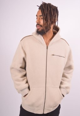 Vintage Fleece Jacket Beige