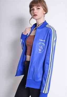 Vintage Adidas Track Jacket Blue