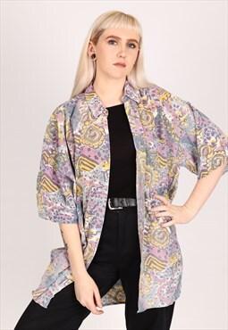 Vintage Pattern Shirt NS527