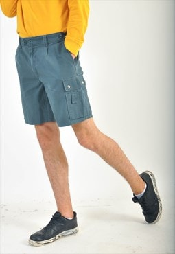 Vintage cargo shorts in green