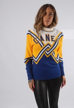 Vintage Cheerleader Jumper Sportswear Football Sweat (AH4G)