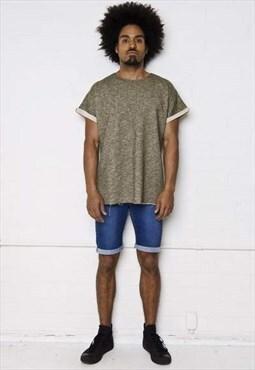 Liquor n Poker - Miami indigo skinny denim shorts