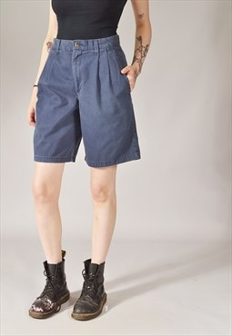 Vintage Dockers Bermuda Shorts Navy Blue