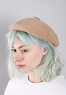Vintage French Beret Hat Cap