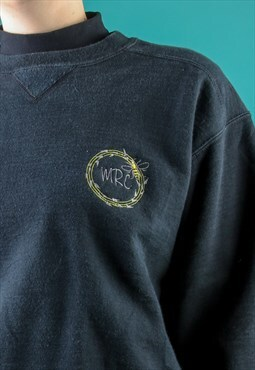 Personalised Sweater Manchester Bee Monogram Embroidery