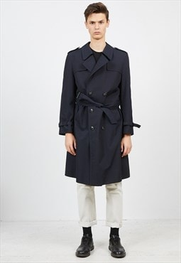 Vintage Navy DIXI Trench Pea Coat