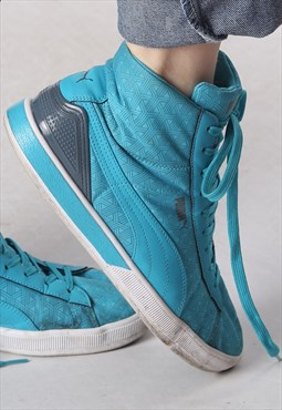 Puma Hi Top trainers UK 7.5 US 8.5  (K53B)