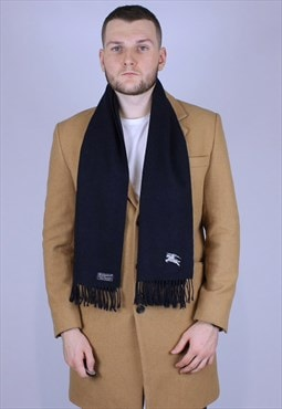 Burberry vintage scarf dark blue