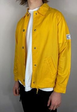 Calvin Klein Patch Yellow Coach Jacket (M)