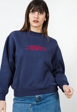 Vintage Style 90s Umbro Embroidered Sweatshirt /  S4119