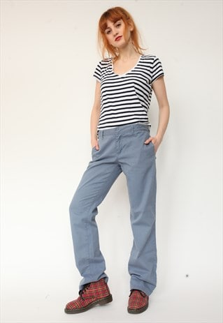 VINTAGE 90'S DICKIES LOW RISE TROUSERS
