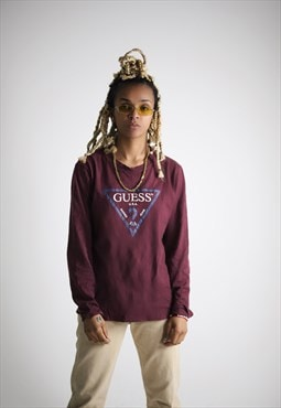 Guess Crewneck  Long Sleeve Top