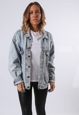 LEVIS Denim Jacket Oversized Fitted UK 18  (E54C)