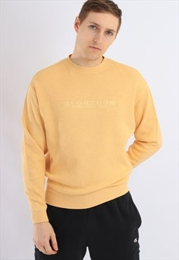 Vintage McGregor Sweatshirt Yellow
