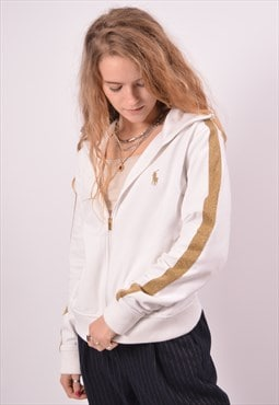 Vintage Ralph Lauren Tracksuit Top Jacket White