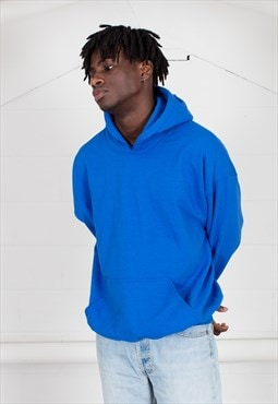 Cosmic Saint Mens Royal Blue Hoody