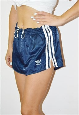 80s Rare ADIDAS Vintage Sprinter Shorts Made in West Germany