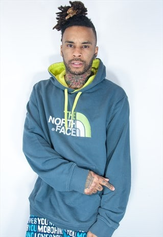 NORTH FACE EMBROIDED HOODIE