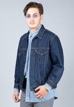 Dark Blue Denim Levi's Jacket
