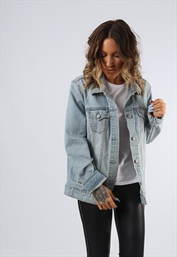 Denim Jacket OLD NAVY Oversized Fitted UK 18  (G92F)