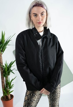 Vintage NAUTICA jacket in black with logo