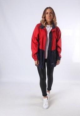 K-WAY 2000 Windbreaker Rain Mac Jacket Vintage UK 12 (5AP)