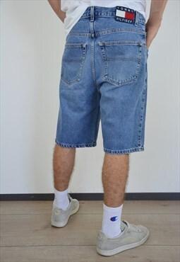Rare Vintage Denim Tommy Hilfiger Jeans Shorts for men
