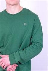Vintage Lacoste Sweatshirt in Green