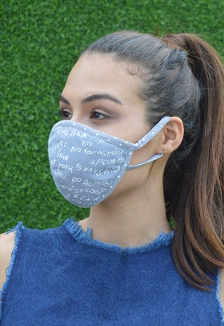 BREATHABLE & WASHABLE FACE COVERING