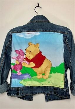 Reworked Vintage Disney Winnie-The-Pooh Tigger Denim Jacket