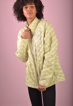 Green The North Face Quilted Jacket GNF764