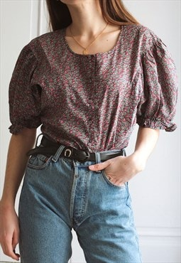 80's-90's vintage Cacharel blouse