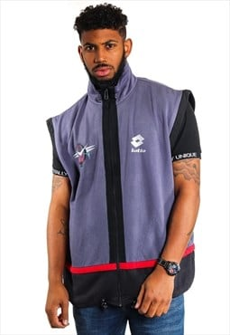 Vintage Lotto Sleeveless Track Jacket  J2386