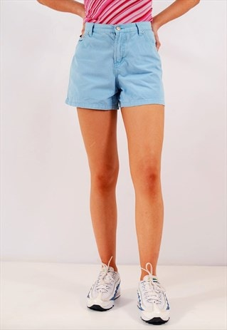VINTAGE TOMMY HILFIGER DENIM SHORTS LIGHT BLUE