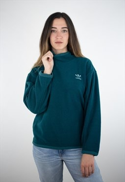 Vintage Adidas 80s Heavy Fleece Jumper Sweatshirt