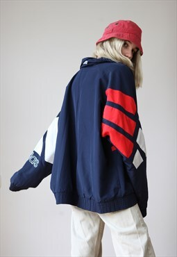 Vintage 90's Adidas Equipment Oversize Track Jacket