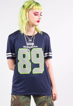 Vintage 90's Seattle Seahawks Jersey Top