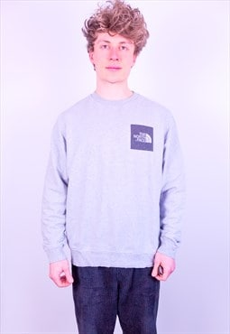 Vintage The North Face Sweatshirt in Grey