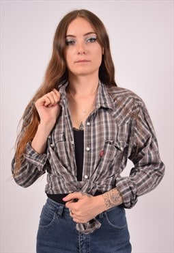 Vintage Levi's Shirt Check Multi