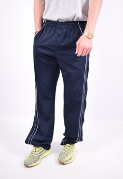 Vintage Champion Tracksuit Trousers Navy Blue