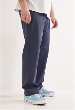Vintage Dickies Striaght Leg Trousers Navy