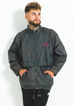 Vintage 80s Puma Windbreaker Jacket / S4013