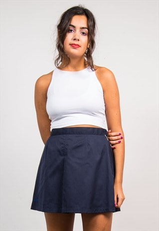 VINTAGE 90'S NAVY BLUE ELLESSE TENNIS SKIRT