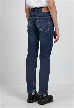 Vintage Blue LEVI'S 505 02 Fit Denim Jeans