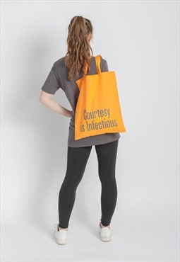 Courtesy Is Infectious Tote