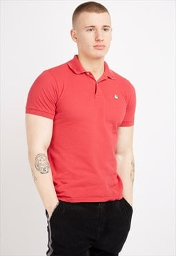 Vintage Red Benetton Polo Shirt