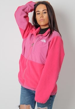 Vintage The North Face Fleece in Pink Medium