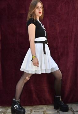 Vintage white skirt