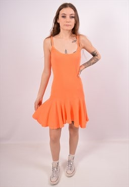 Vintage Polo Ralph Lauren A-Line Dress Orange