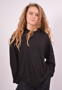 Vintage Ferre Top Long Sleeve Black